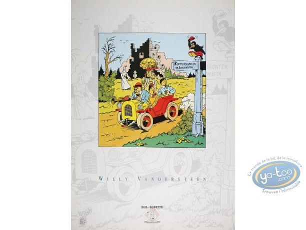 Offset Print, Willy and Wanda : In Car