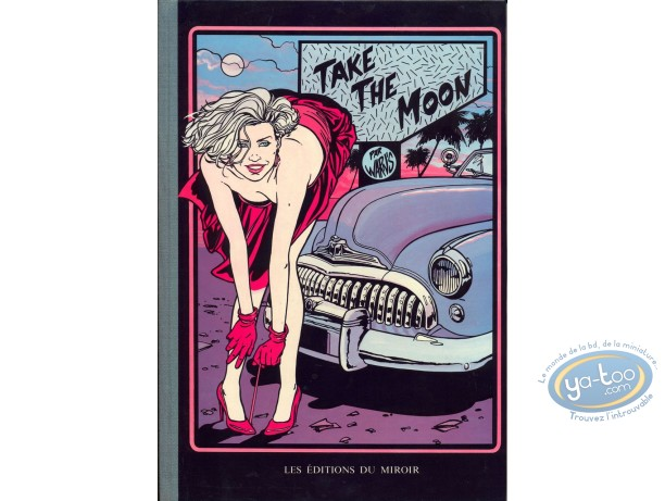 Reduced price European comic books, Take The Moon : Take the moon