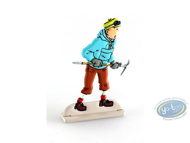 Metal Figurine, Tintin : Tintin in Tibet (bas-relief)