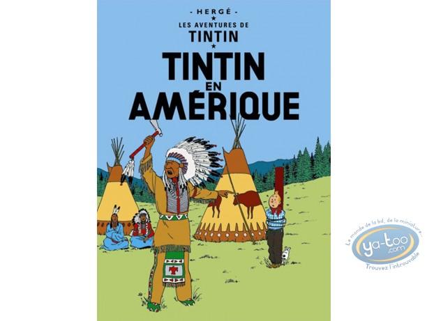 Offset Print, Tintin : Tintin in America