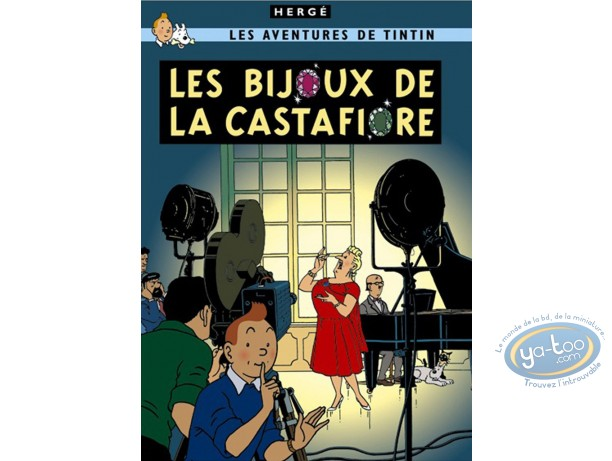 Offset Print, Tintin : The Castafiore Emerald