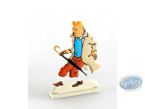 Metal Figurine, Tintin : The Calculus Affair (bas-relief)