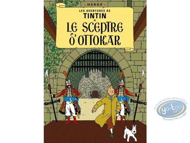 Offset Print, Tintin : King Ottokar's Sceptre