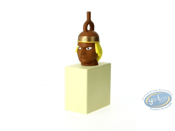 Resin Statuette, Tintin : Mochica vase statuette Collection 'The Imaginary Museum of Tintin'