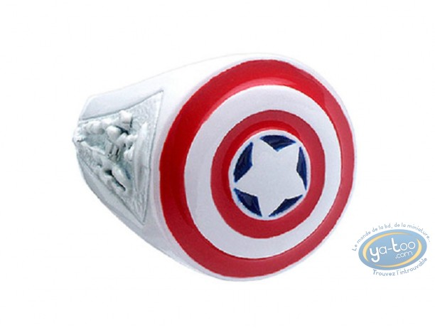 Jewelry, Captain America : Captain America [62 Size]