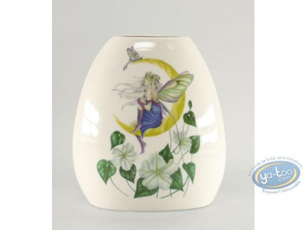 Tableware, Moon Flower : Ceramic vase : Moon Flower