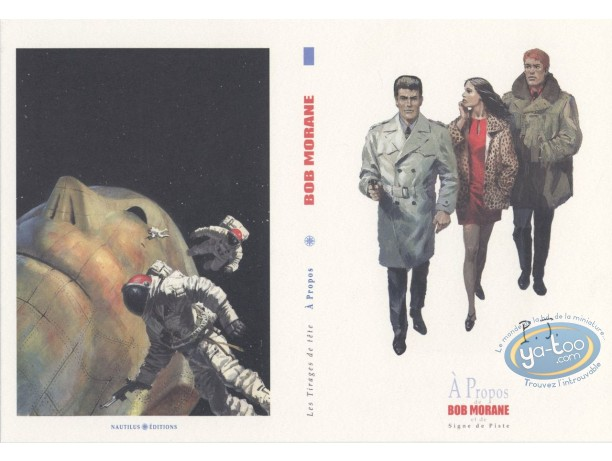 Bookplate Offset, Bob Morane : Diptych