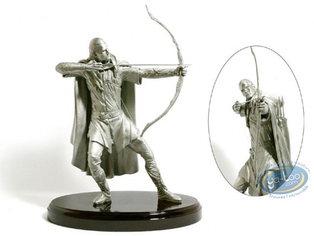 Metal Figurine, Lord of the Rings (The) : Legolas (Fine Pewter)