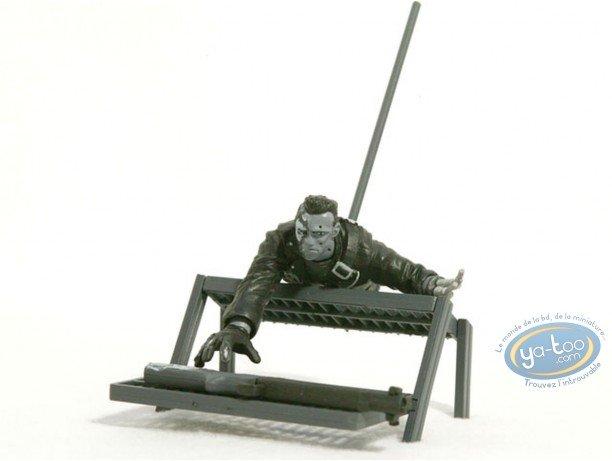 Plastic Figurine, Terminator : Terminated (b&w)