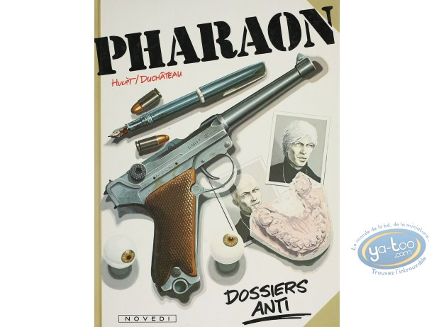 Listed European Comic Books, Pharaon : Dossiers Anti (very good condition)