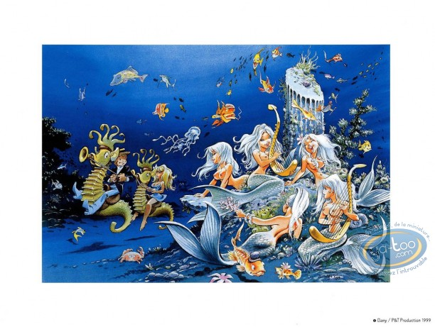 Offset Print, Olivier Rameau : The sirens