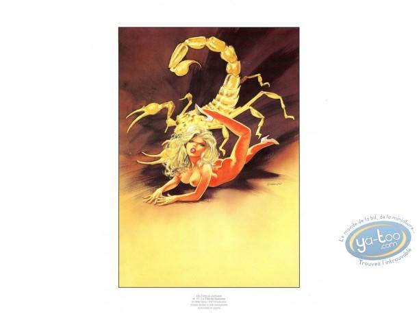 Offset Print, Filles du Zodiaque (Les) : The Scorpio girl