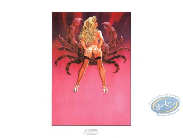 Offset Print, Filles du Zodiaque (Les) : The Cancer girl