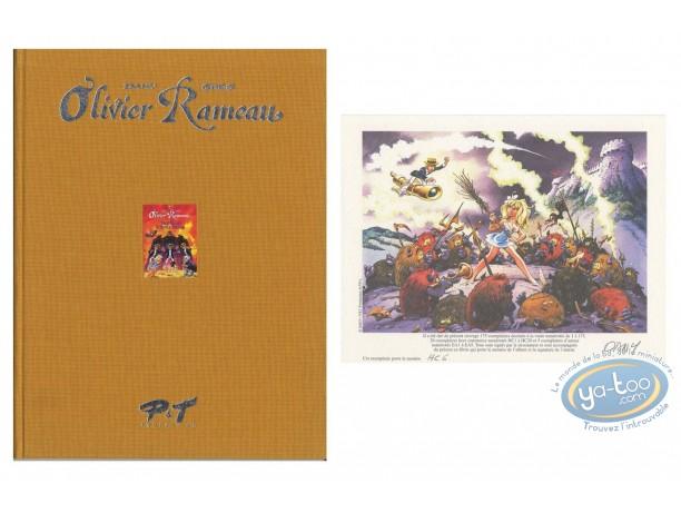 Limited First Edition, Olivier Rameau : Le Miroir à trois faces