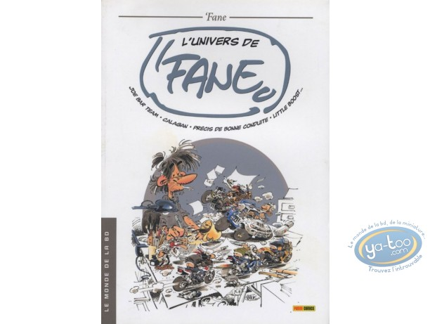 Reduced price European comic books, Joe Bar Team : l'univers de Fane