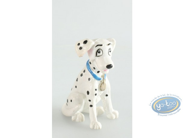 Plastic Figurine, 101 Dalmatians (The) : Perdita, Disney