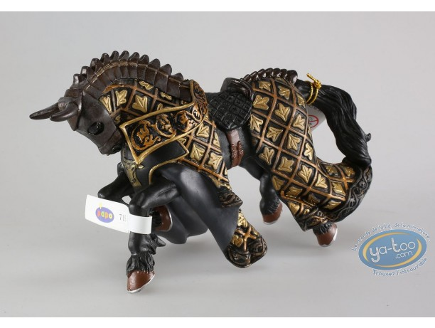 Plastic Figurine, Horse's Master of arms bull crest