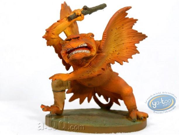 Resin Statuette, Tableaux en 3D : Matthias Grünewald - Monstre avec gourdin