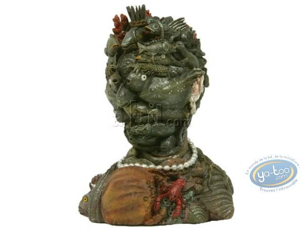 Resin Statuette, Tableaux en 3D : Arcimboldo - Eau