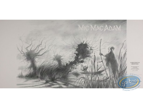 Jacket, Mic Mac Adam : The Swamp