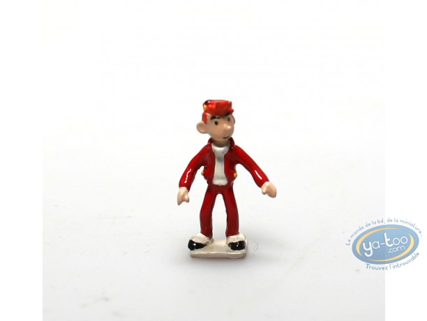 Metal Figurine, Spirou and Fantasio : Spirou groom