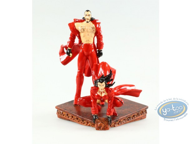 Metal Figurine, Rapaces : Drago & Camilla, Pixi