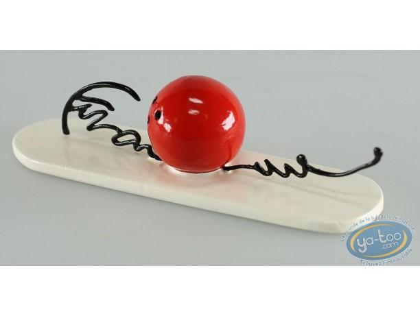 Metal Figurine, Signatures de Franquin (Les) : Bowling Ball