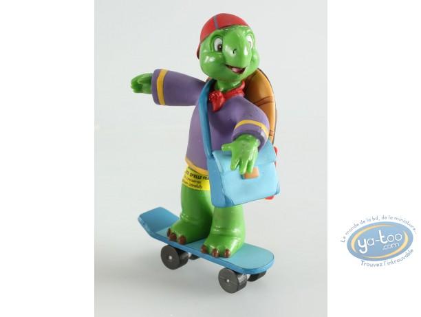 Plastic Figurine, Franklin : Franklin skate