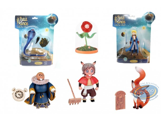 Action Figure, Little Prince (The) : Pack of 6