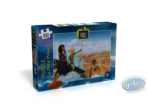 Toy, Little Prince (The) : Puzzle 100 pieces - The desert