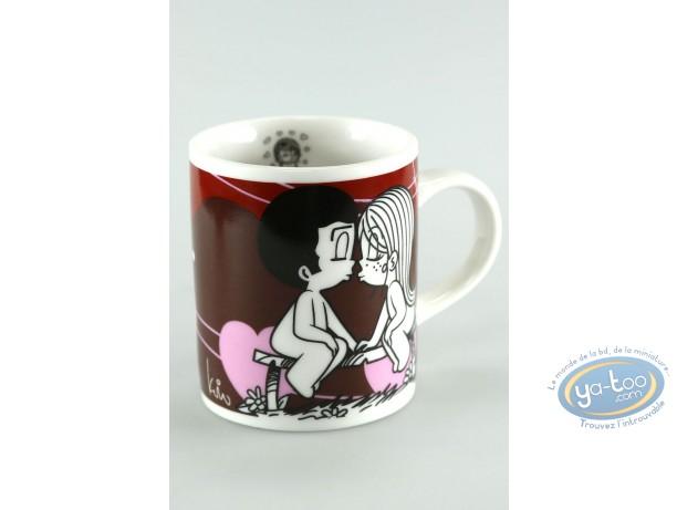 Tableware, Love is … : Mini mug, Love is... : Liebe ist ... der erste kuss