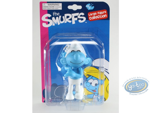 Plastic Figurine, Smurfs (The) : PVC figurine, Vanity Smurf