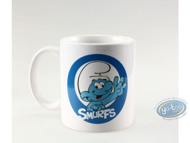 Tableware, Smurfs (The) : Mug Smurf logo