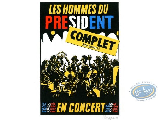 Offset Print, Hommes du Président (Les) : President's men