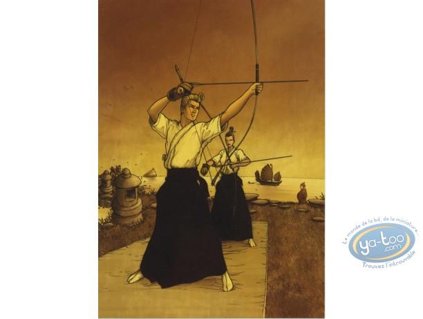 Bookplate Offset, Golden City : Archers