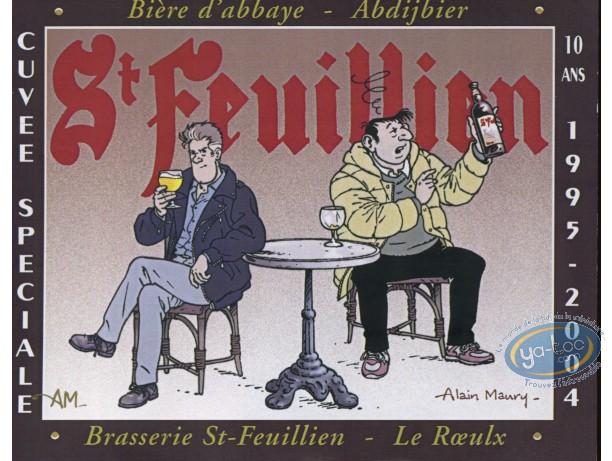 Wine Label, Beluga : Beluga & beer