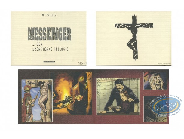 Bookplate Offset, Messager (Le) : diptych
