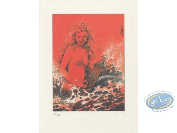 Offset Print, The Mermaid (signed)