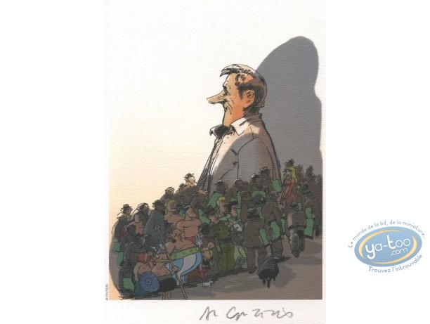 Bookplate Offset, Astérix : Tribute to Uderzo