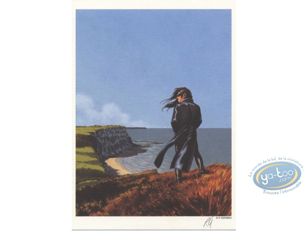 Bookplate Offset, Chant des Stryges (Le) : Debrah at the sea