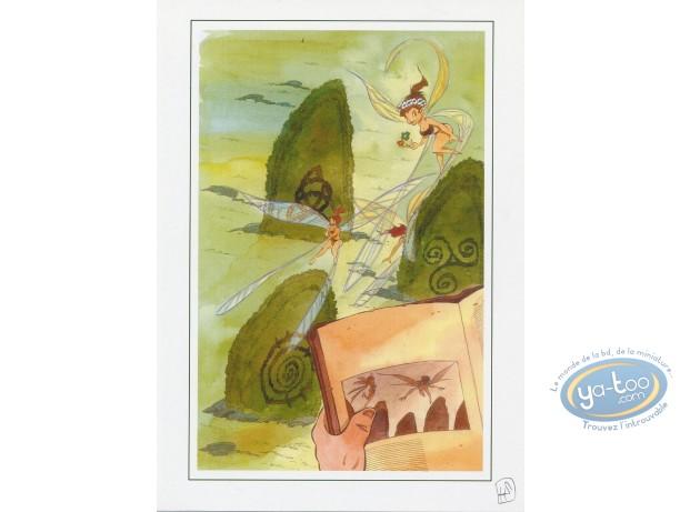Bookplate Offset, Lautremer : Fairies