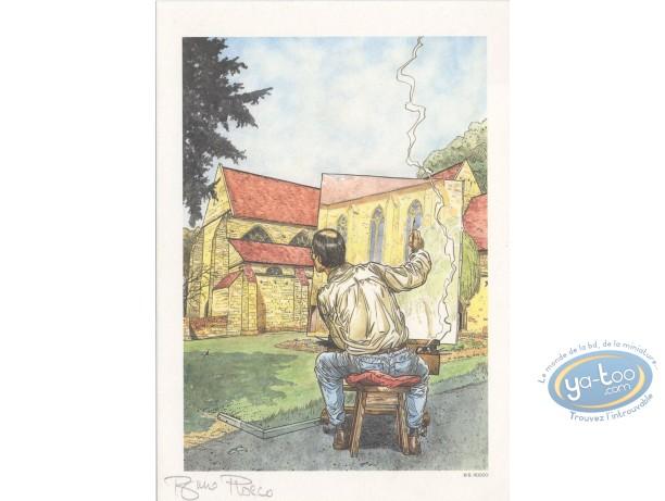 Bookplate Offset, Drawer