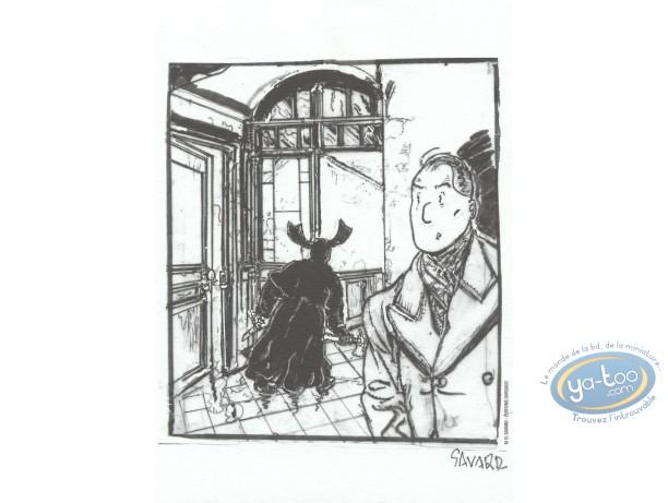 Bookplate Offset, Dick Hérisson : Dick Hérisson et l'ombre n&b