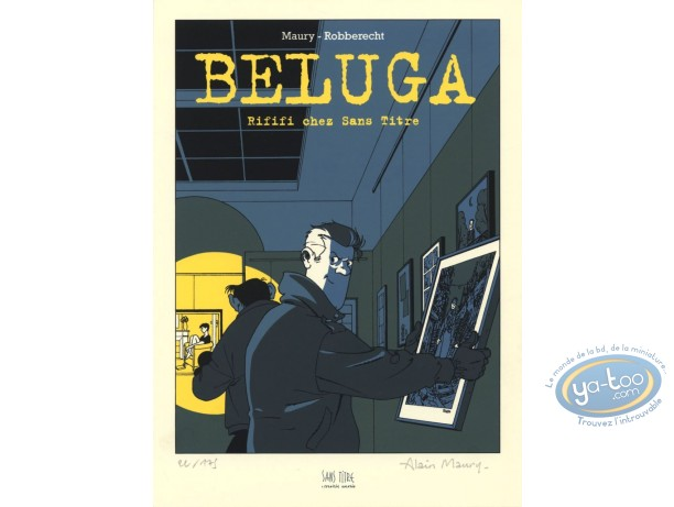 Bookplate Offset, Beluga : Rififi chez Sans Titre