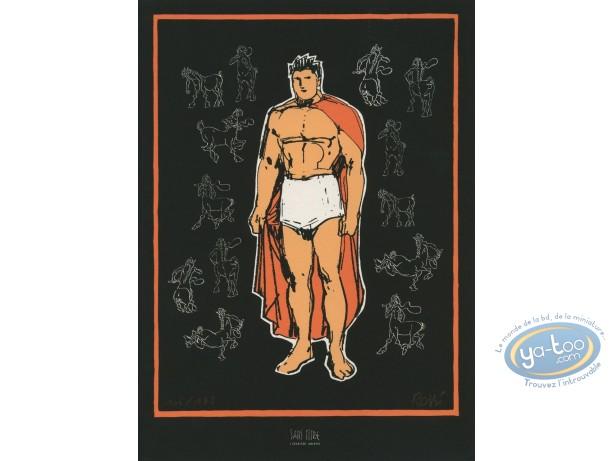 Bookplate Serigraph, Gloire d'Héra (La) : Rossi, La Gloire d'Hera