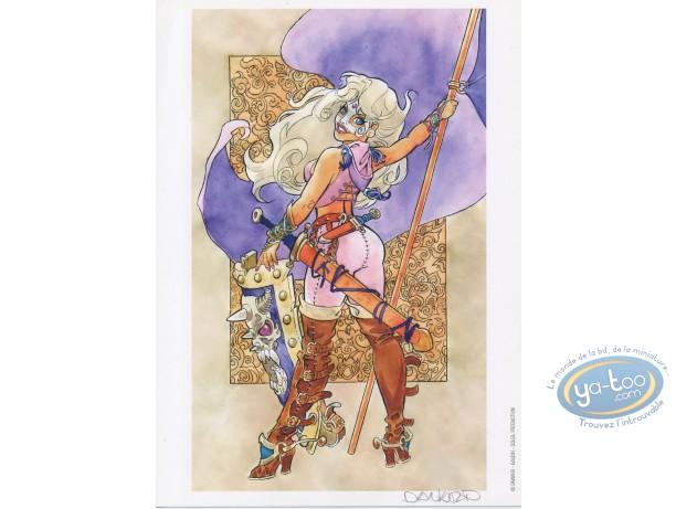 Bookplate Offset, Marlysa : Marlysa drapeau