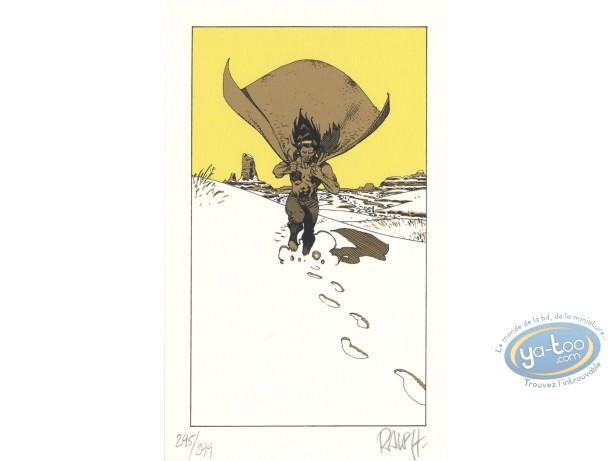 Bookplate Serigraph, Berceuse Assassine : Snow