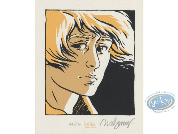 Bookplate Serigraph, Petit Verglas : Face