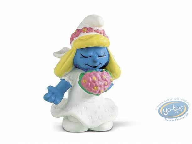 Plastic Figurine, Smurfs (The) : Smurfette married