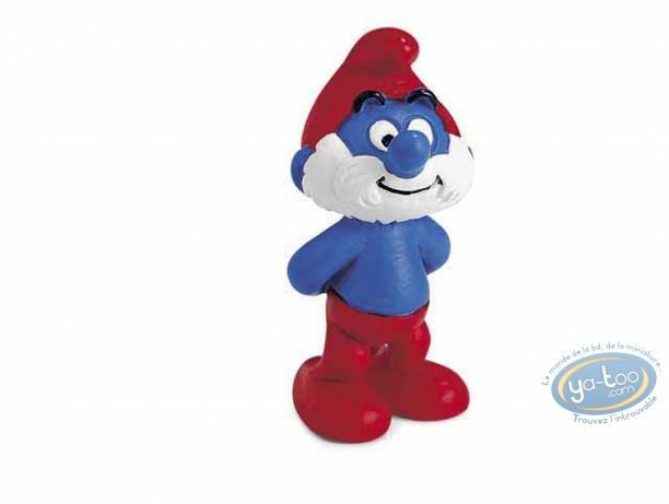 Plastic Figurine, Smurfs (The) : Papa Smurf